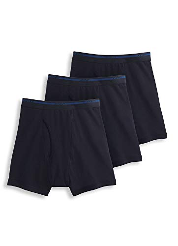 Jockey Classic Boxers - Jockey Men's Underwear Lightweight Classic Boxer Brief - 3 Pack, Black, M