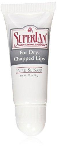 Superlan Ultra Pure Medical Grade Refined Kosher Lanolin for Chapped Lips, 0.35 oz(10 g)