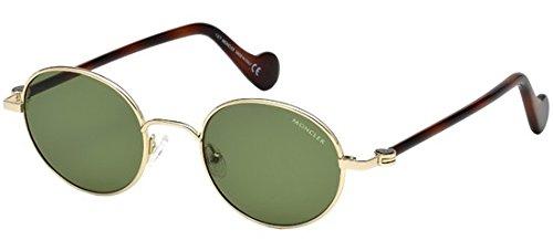 Adulto Sol 49 Unisex Gafas verde 32n oro Dorado Ml0057 De Moncler 4xqwO60OP
