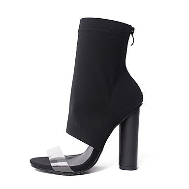 cm 5 Habillé Femme Tissu à amp;xuezi Mode Talon black la à Automne Bottes Gros 7 GLL 5 Noir 9 Bottes 1UwxzAwq