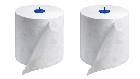 Tork 290094 Premium Extra Soft 2-Ply Hand Roll Towel, White (Pack of 6) (2-(Pack of 6))
