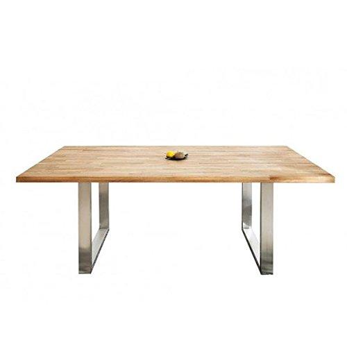 Mesa 160 x 90 cm comedor), color: roble: Amazon.es: Bricolaje y ...