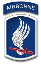 United States Army 173rd Airborne Brigade Patch Decal Sticker 3.8