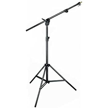 Manfrotto 420NSB 3- Section Combi- Boom Stand without Sand Bag - Replaces 3398B (Black)