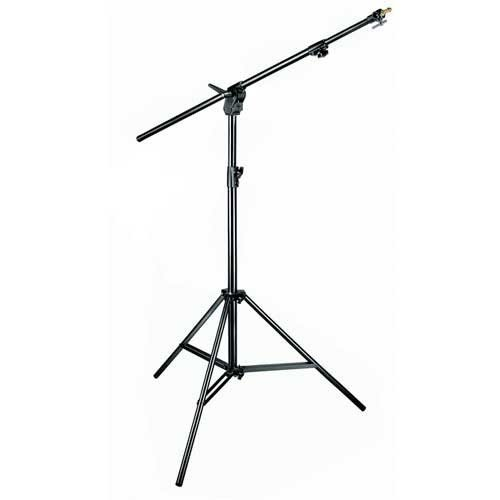 Manfrotto 420NSB 3- Section Combi- Boom Stand without Sand Bag - Replaces 3398B (Black) by Manfrotto