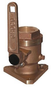Full Flow Flanged Ball - Groco BV2500 SEACOCK 2-1/2IN FF BALL VALVE