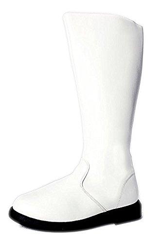Futuristic Cosplay Halloween Star Wars Stormtrooper Power Ranger SuperHero Western Men's Boots (Power Ranger Boots)