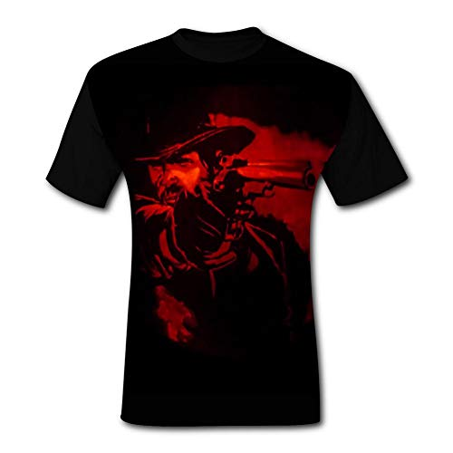 - Red Dead Redem-ption Pumpkin 2 Men's T-Shirt 3D Printed Graphic T Shirt Crew Tees Blouse for Men