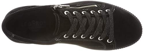 Schwarz Black Legero 00 Trainers Women's Black Tanaro XwxrHIx