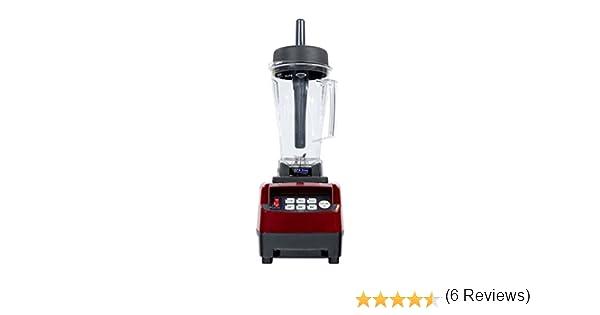 Omniblend Pro V TM-800 - Batidora de vaso (2 L, sin BPA), color rojo: Amazon.es: Hogar
