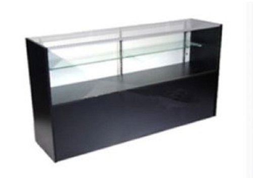 Vision Showcase - Half Vision Showcase, 48 Inches Wide Black Color By Modern Store Fixtures