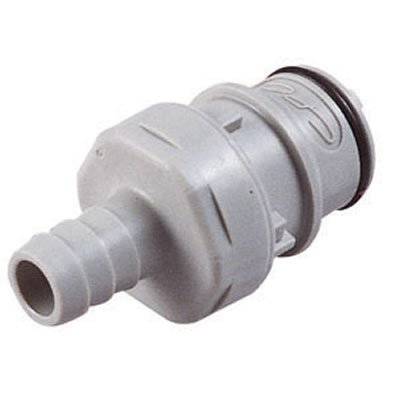 Cpc 3/4inch in-Line Hose Barb HFC 12 Series Polypropylene Coupling Insert - Straight Thru