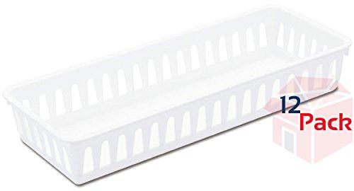 Sterilite 16078024 Slim Storage Tray