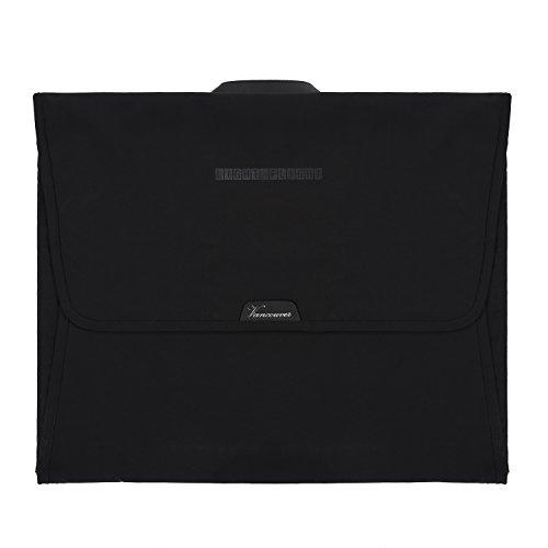 LIGHT FLIGHT Travel Packing Organizer Anti-wrinkle Travel Garment Bag with 15.7 inch Folding Board, Black