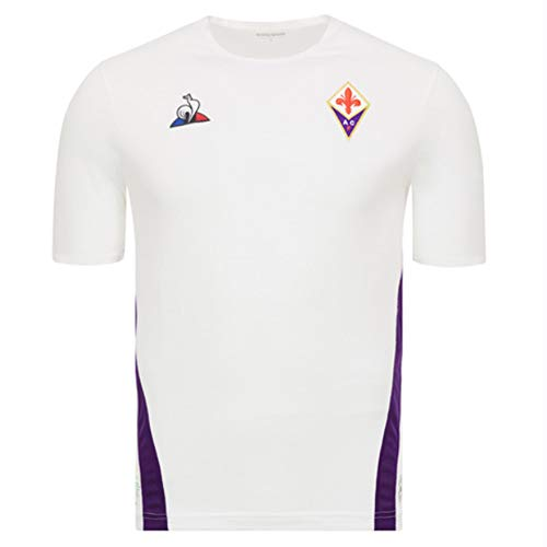 Le Coq Sportif 2018-2019 Fiorentina Away Football Soccer T-Shirt Jersey