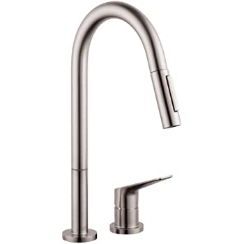 Hansgrohe 34822801 Citterio M Hole Kitchen Faucet Steel