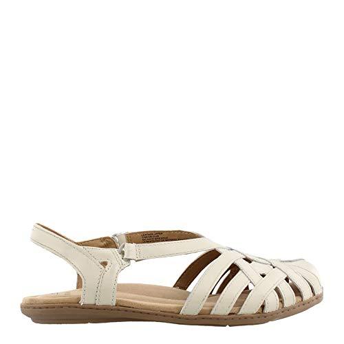 Earth Origins Women's, Belle Brielle Slip on Shoes White 9.5 M ()