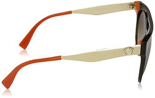 Versace Sonnenbrille (VE4339) TRANSPARENT GREEN/ORANGE