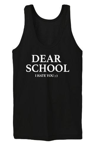 Dear School Tanktop Girls Noir