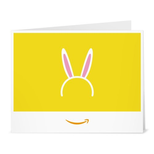 Amazon Gift Card - Print - Bunny Ears (Gift Basket Websites)