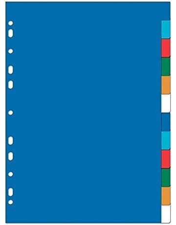 Elba 100205086 - Separador plástico, A4+