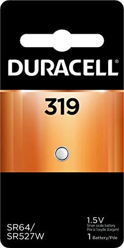 - Duracell - 319 1.5V Silver Oxide Button Battery - long-lasting battery - 1 count