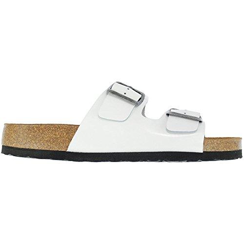 Oxygène Semelle Sandale PARIS Blanc
