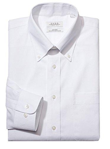 Enro Button Down Dress Shirt (Enro Non-Iron Button Down Collar Solid Color Dress Shirt (3-Pack))