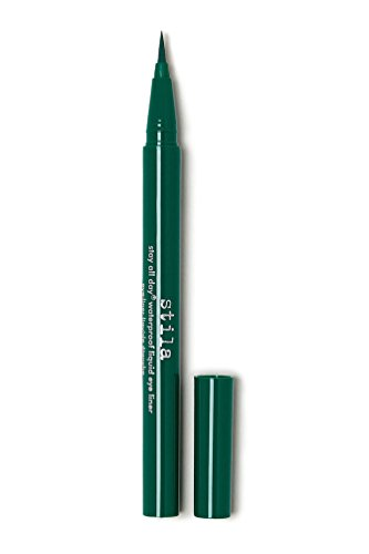 stila Stay All Day Waterproof Liquid Eye Liner, Emerald (Vibrant Green)]()
