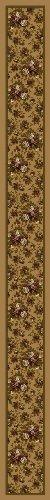 Design Center Floral Lace Maize Rug Rug Size: Runner 2'4