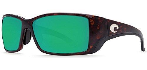 Sunglasses Costa Del Mar BLACKFIN BL 10 GMGLP TORTOISE GREEN MIRROR - Costa Blackfins