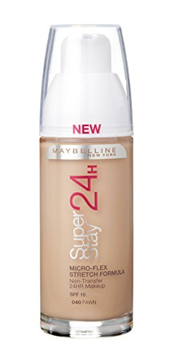 Maybelline SuperStay24H Liquid Foundation 040 Fawn 30ml: Amazon.co ...