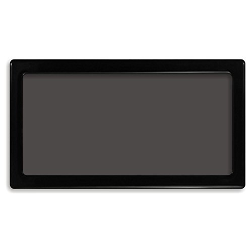 DEMCiflex Dust Filter for Cooler Master N400, Top, Black Frame, Black Mesh by DEMCiflex