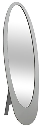 Monarch Contemporary Oval Cheval Mirror