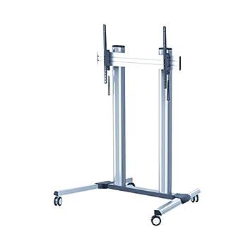 KIMEX 030-5216 Supporto da pavimento con rotelle per schermo extra large  60 quot - b9983293957
