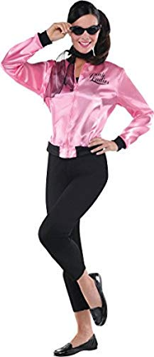 Pink Ladies Grease Jacket Costume - Large (10-12)