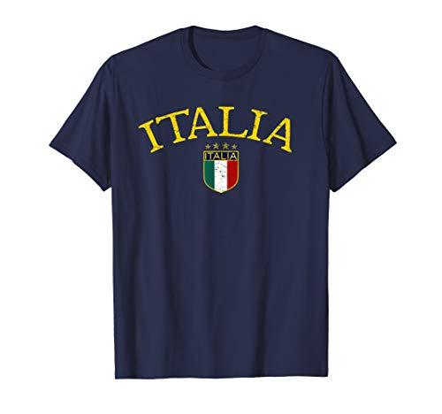 Vintage Italia Soccer T-shirt - T-shirt Soccer Italia