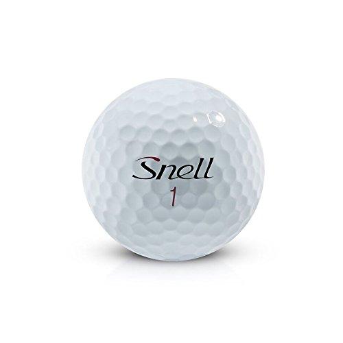 Snell MTB Black My Tour Golf Balls, White (One Dozen) by Snell Golf (Image #2)