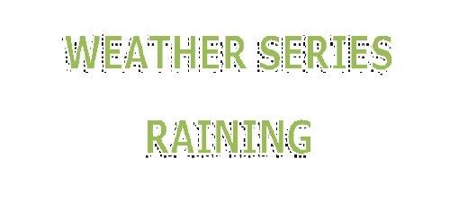 Raining (Weather Series) por Amanda Torres