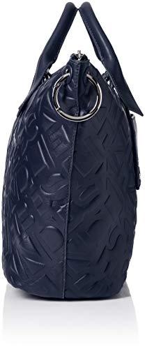 navy Berlin Blu Borsa Logo Donna 5838 Blue Satchell Liebeskind A Mano 8wA00qd
