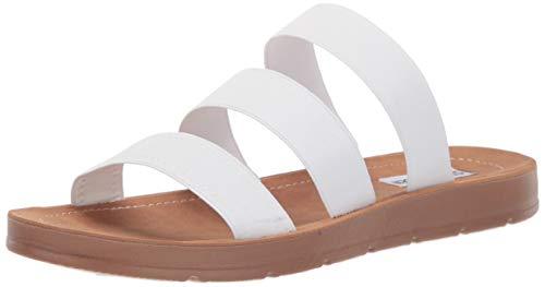 - Steve Madden Women's Pascale Sandal, White, 8 M US