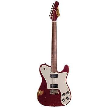 Friedman Vintage T Candy Apple Red, HH · Guitarra eléctrica: Amazon.es: Instrumentos musicales