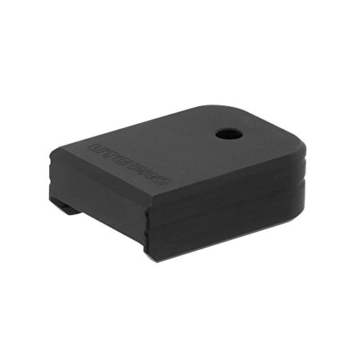 UTG Pro Plus 0 Base Pad, Glock Small Frame, Matte Black Aluminum
