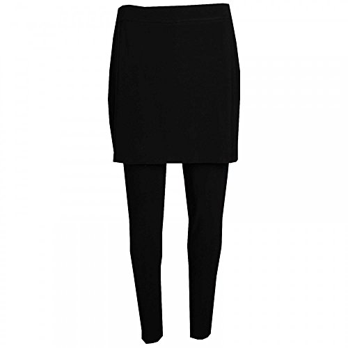 Skirt Lyman Frank On Leggings Attached Black With Pull xwTOaqPTv