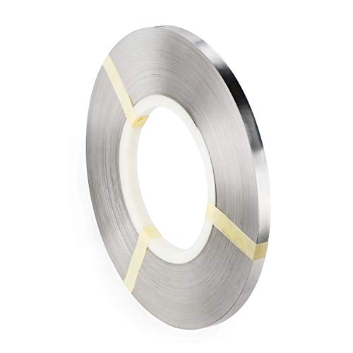 Pure Nickel Strip- 99.6% Nickel Strips 0.15x8mm 1kg(2.2lbs, 318ft) for 18650 Soldering Tab for High Capacity Lithium, Li-Po Battery, NiMh and NiCd Battery Pack and Spot Welding