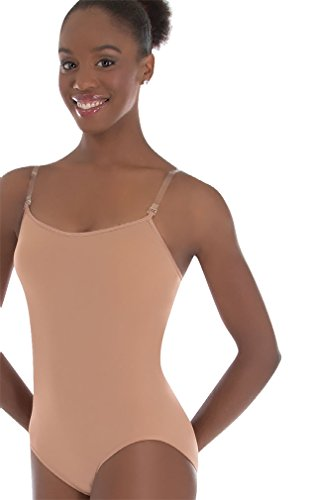 Bust Versatile Halter/Tank Leotard, Nude, Small (Body Wrappers Tank Leotard)