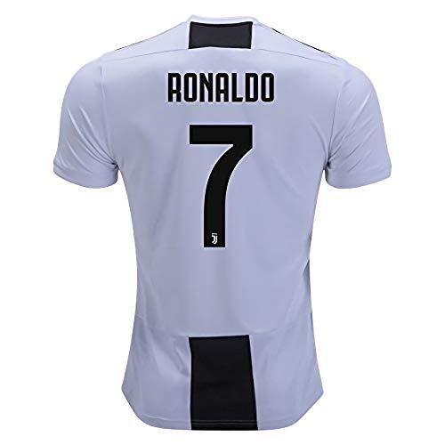 Arsenal Stadium - 2018-2019 Juventus Stadium New Season Ronaldo 7 Home Jersey Mens White M