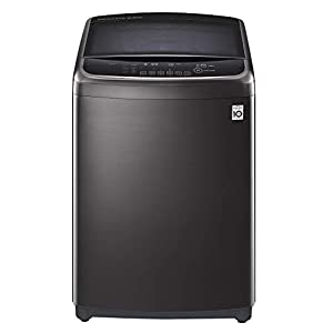 LG 18 Kg Inverter Wi-Fi Fully-Automatic Top Loading Washing Machine (THD18STB, Black STS)