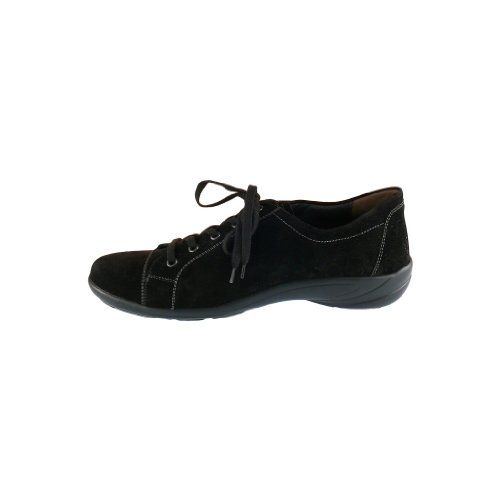 Semler B6055-041-001 Birgit mujer zapato cuero ancho H negro