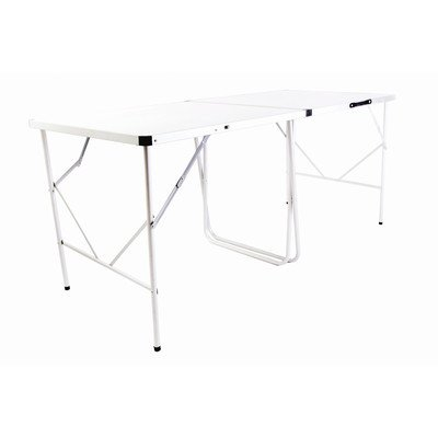 Ledge Sports Genius 8 - 8 Foot Outdoor Camp or Banquet Table (96X32, White) by Ledge